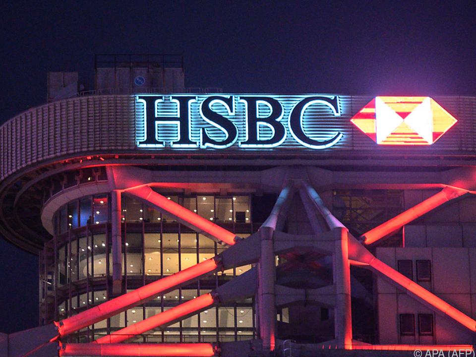 Die britische Großbank HSBC will mehr Gewinne schreiben