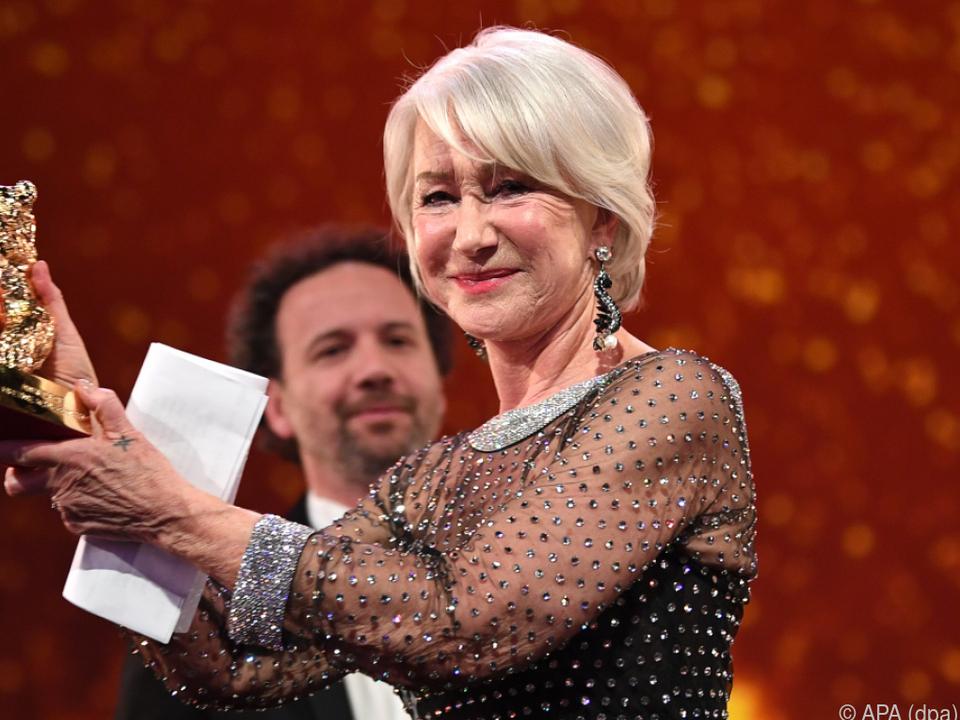 Die britische Schauspielerin zeigt sich geehrt
