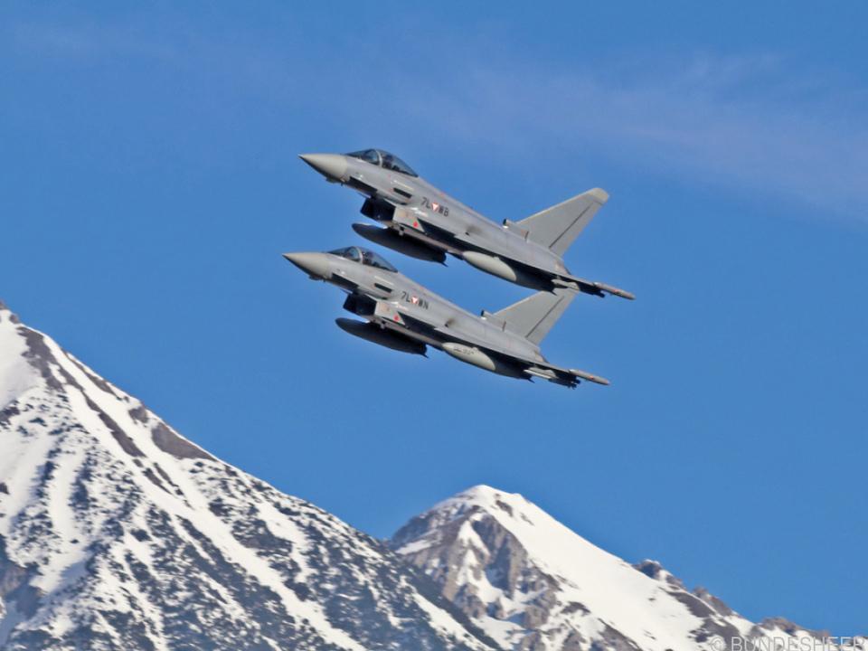 Die Eurofighter bleiben in Österreich sicher noch lange Thema