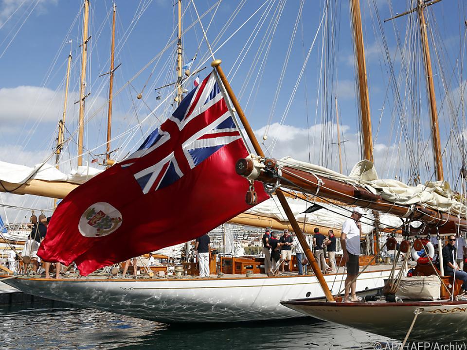 Die Fahne der Cayman Islands