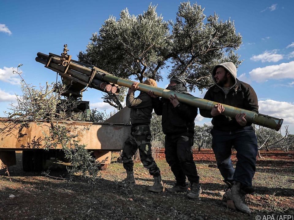 Die Kämpfe in Idlib eskalieren zunehmend