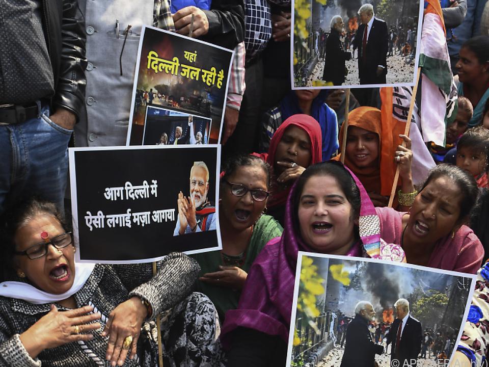 Die schwersten Ausschreitungen in Indien seit Jahrzehnten