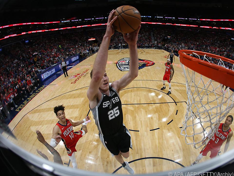 Die Spurs haben bereits das dritte Spiel in Folge verloren