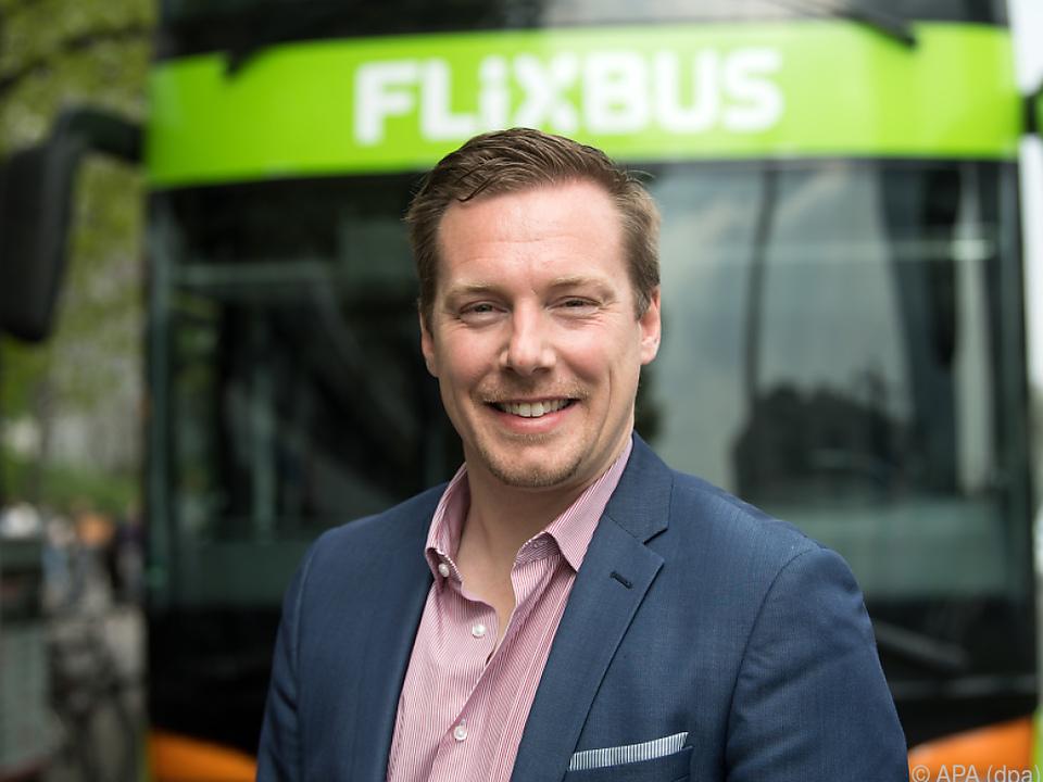 Flixbus-Geschäftsführer Andre Schwämmlein mit Expansionsplänen