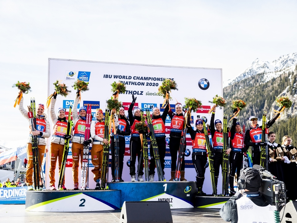 Foto_GER_NOR_UCR_Women_Relay_Antholz_22_2_2020_Nordic_Forum