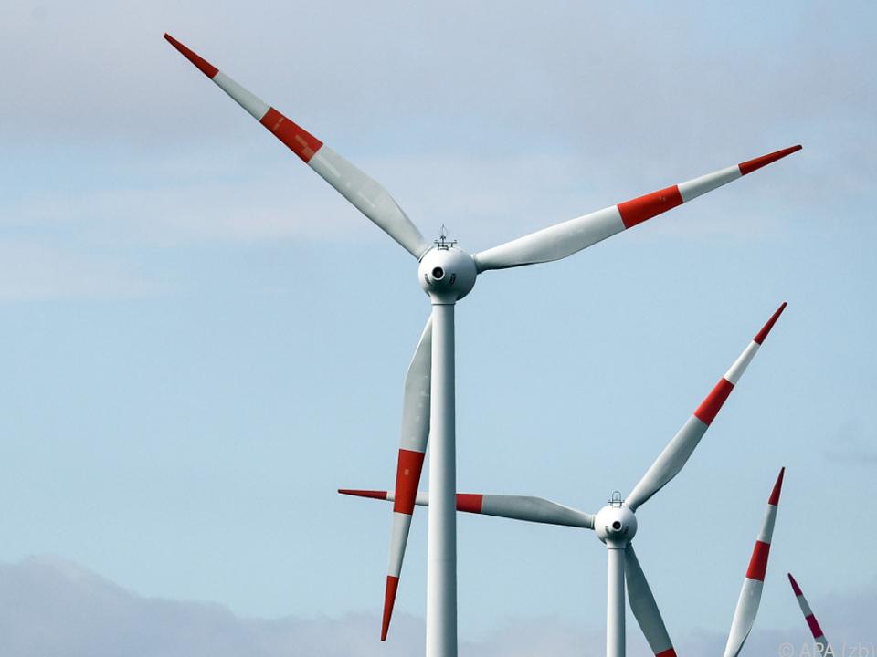 Für Klimaneutralität in Europa müssten mehr Windräder gebaut werden