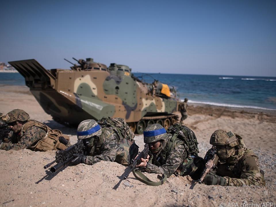 Gemeinsame Militärübungen von USA und Südkorea