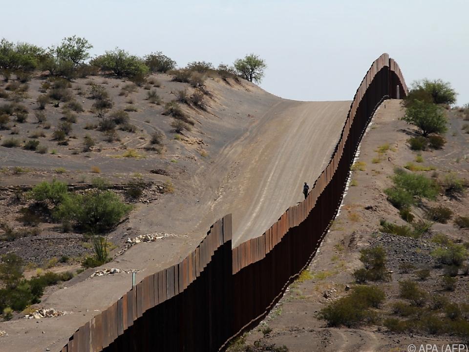 Grenzzaun zwischen Mexiko und den Staaten