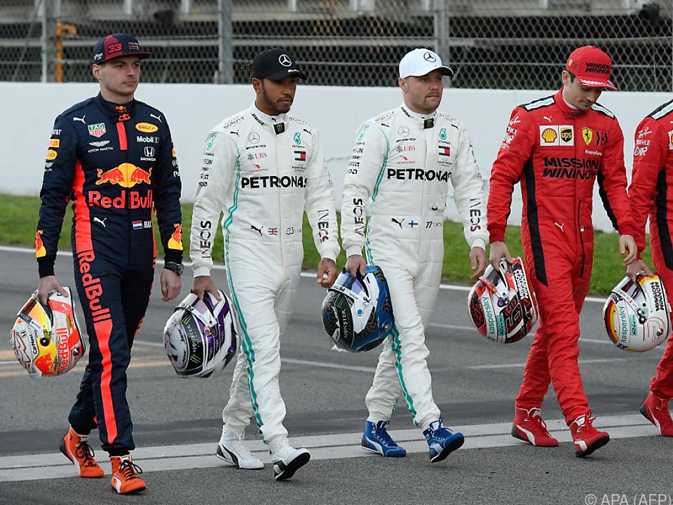 Hamilton war der schnellste bei den Testfahrten