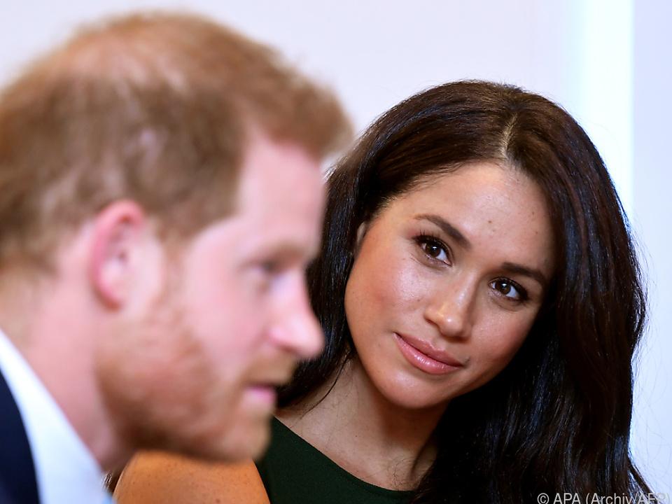 Harry und Meghan verzichteten auf Anrede \