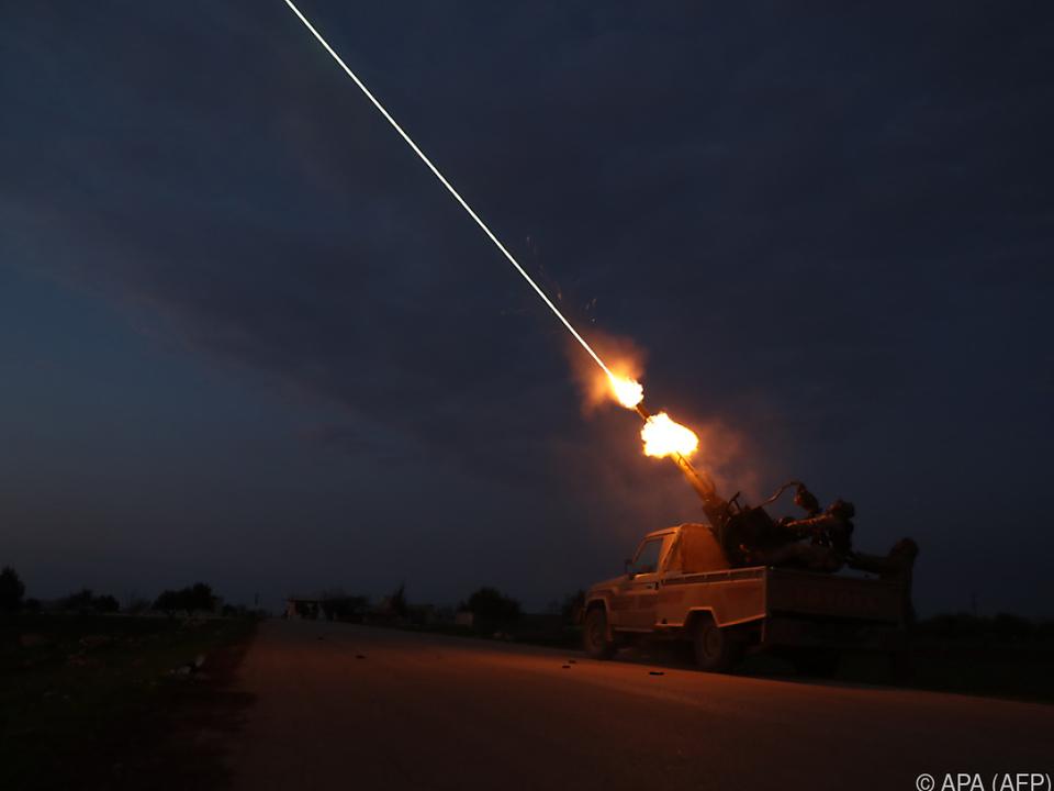 Heftige Gefechte in Syrien