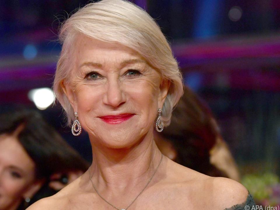 Helen Mirren wird von der Berlinale geehrt