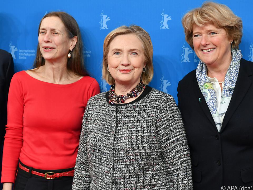 Hillary Clinton besucht die Berlinale