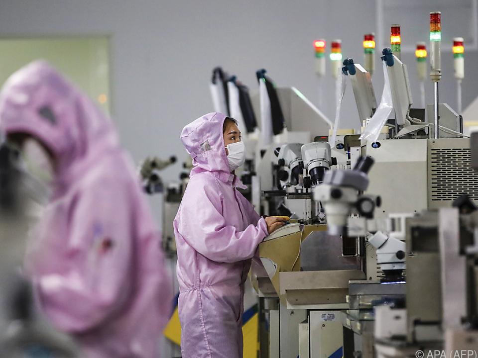 Hohe Schutzmaßnahmen in chinesischen Fabriken