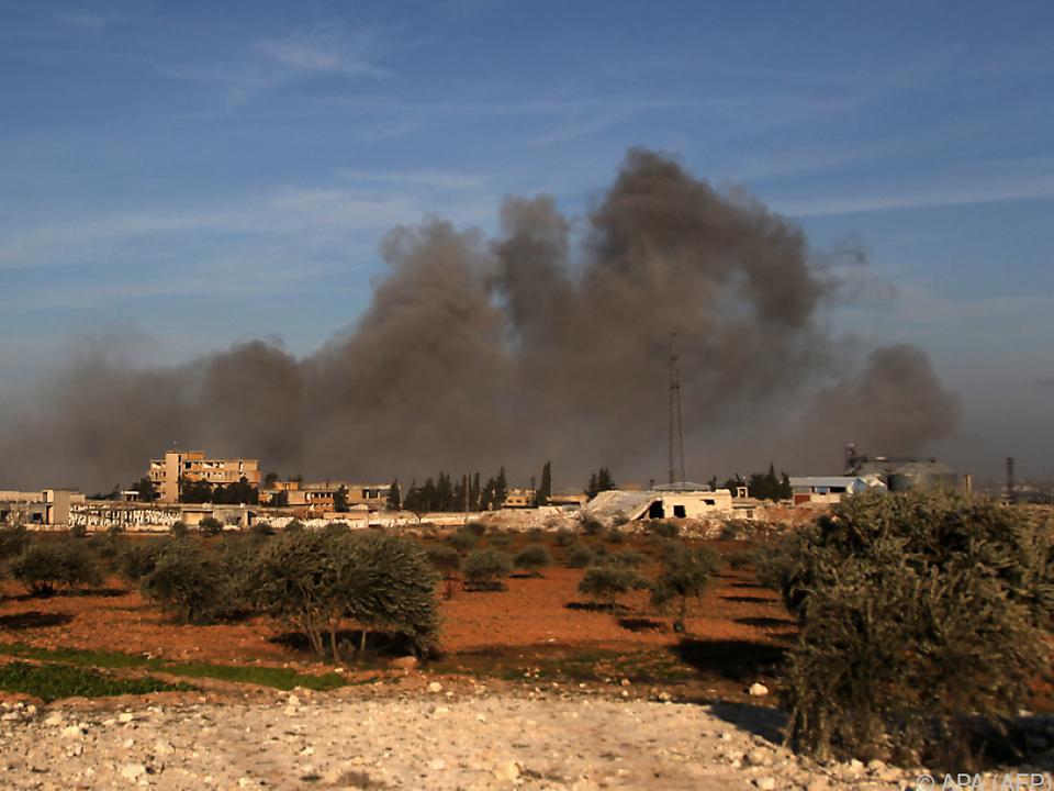 Idlib kommt nicht zur Ruhe