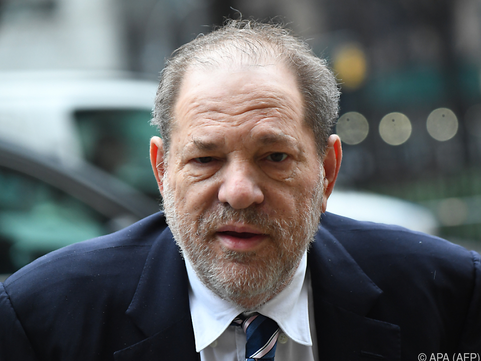 In einem Schlussplädoyer wurde Weinstein als \