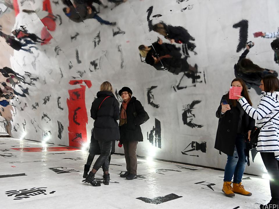 Installation zur Kulturhauptstadteröffnung in Rijeka