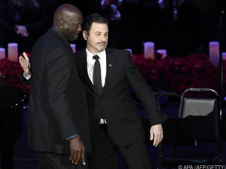 Jimmy Kimmel moderierte die Trauerfeier