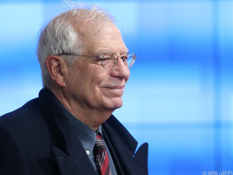 Josep Borrell verhandelte mit den EU-Staaten