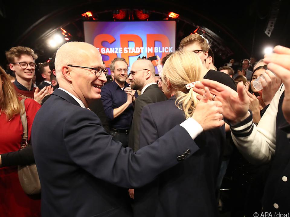 Jubel bei der SPD