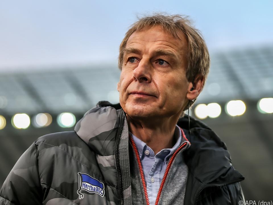 Jürgen Klinsmann verärgerte Hertha mit seinem plötzlichen Abgang
