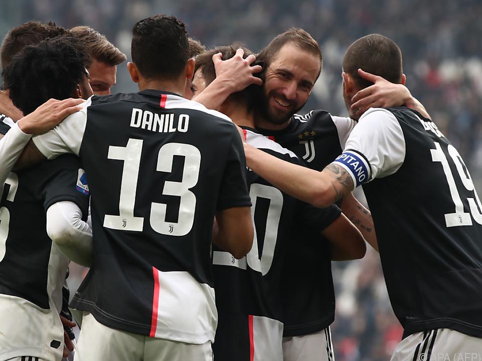 Juventus gewann auch ohne Topstürmer Ronaldo