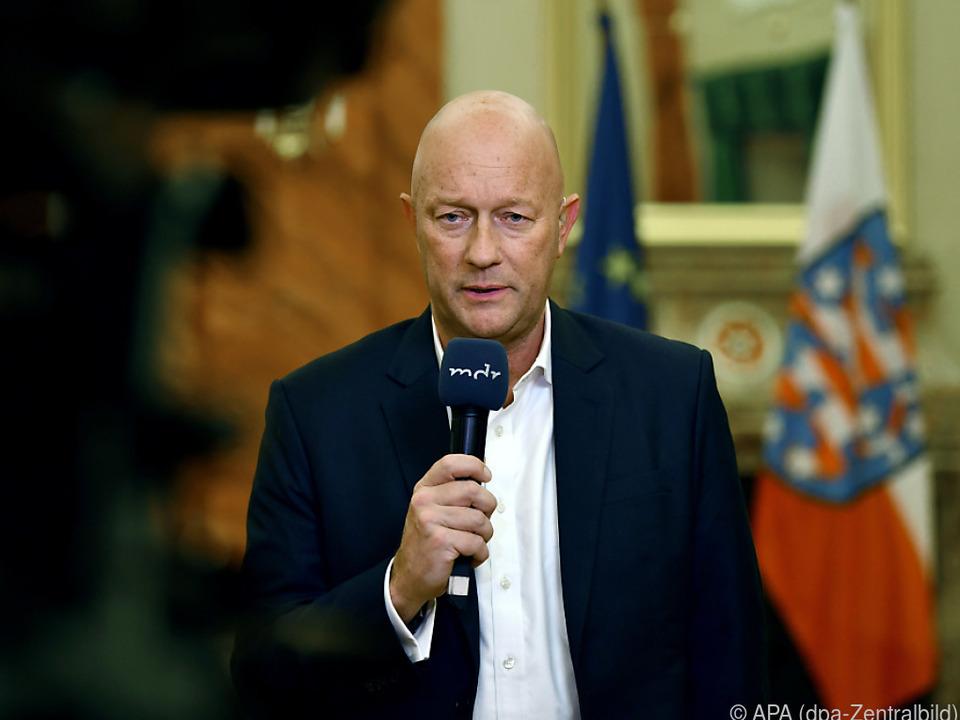 Kemmerich wurde mit Stimmen der AfD zum Ministerpräsidenten gewählt