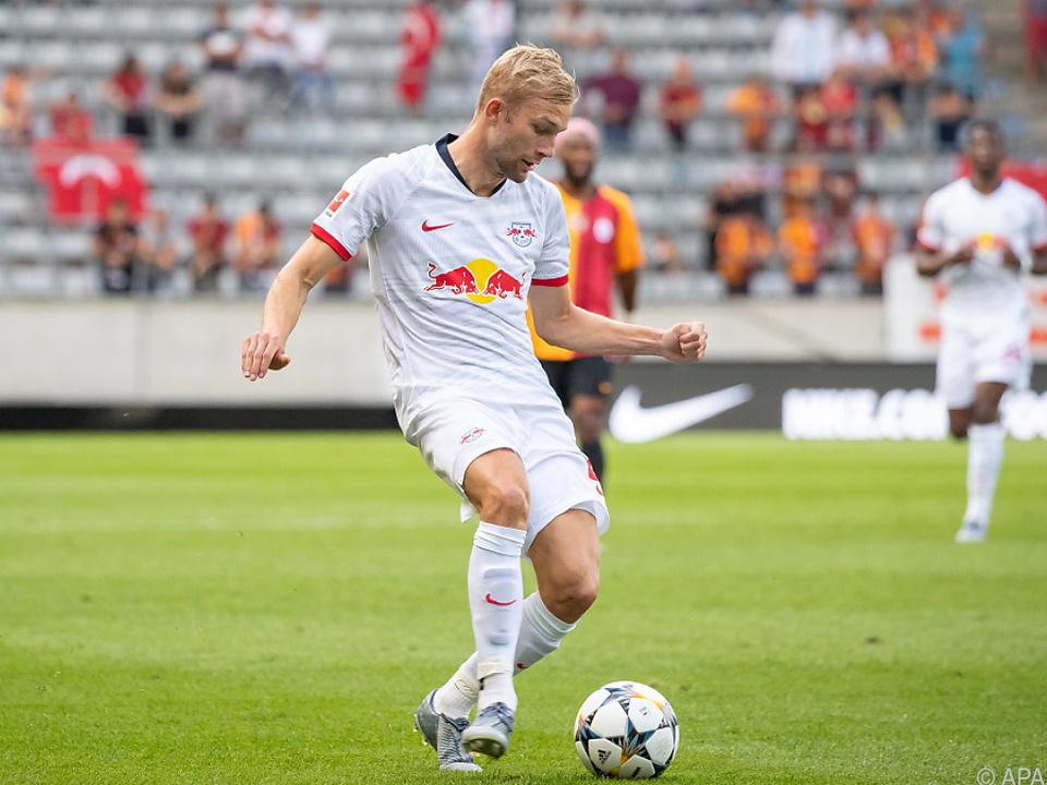 Konrad Laimer gehört zu den Stammspielern