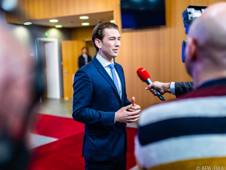 Kurz will keine Beitragserhöhung für Österreich
