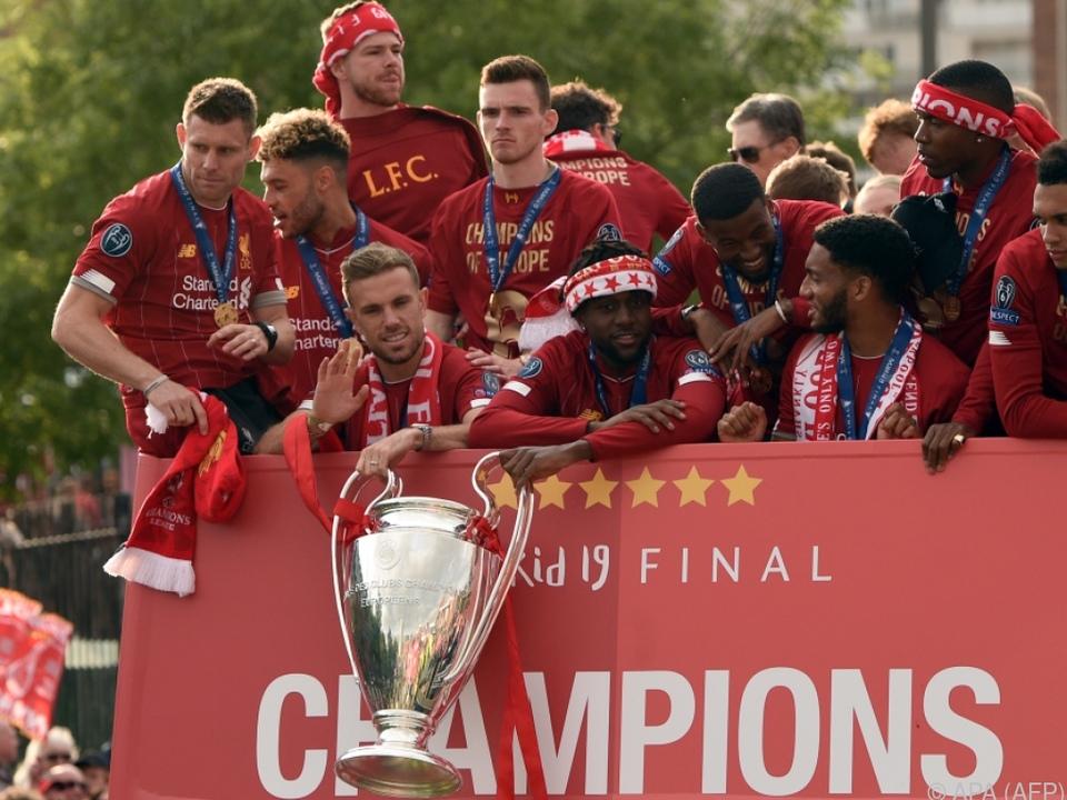 Liverpool ist der aktuelle Champion