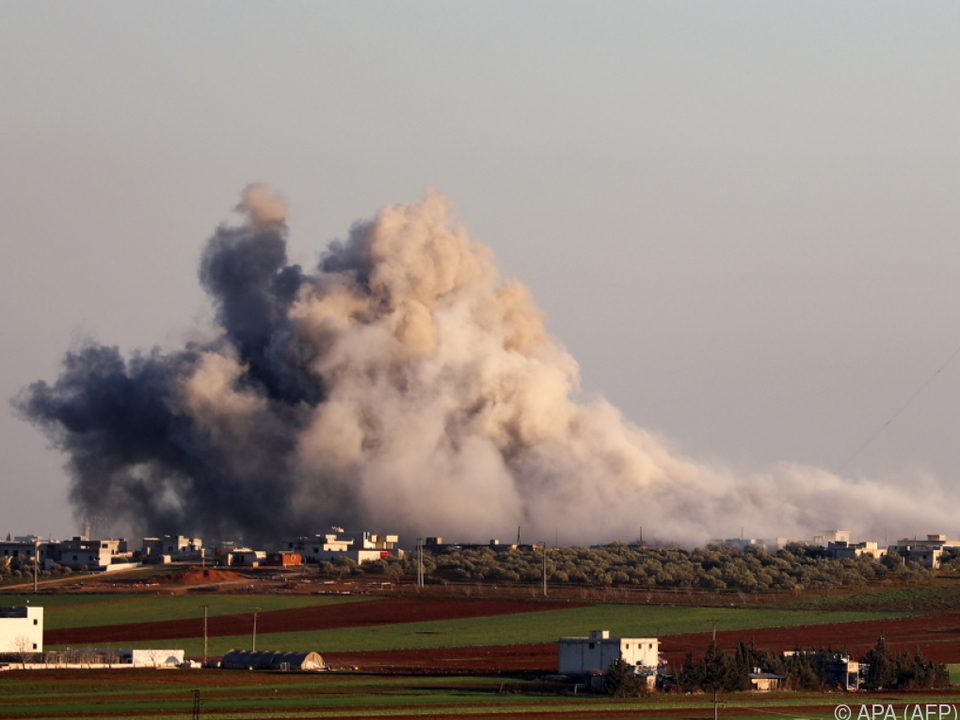 Luftangriffe der syrischen Armee