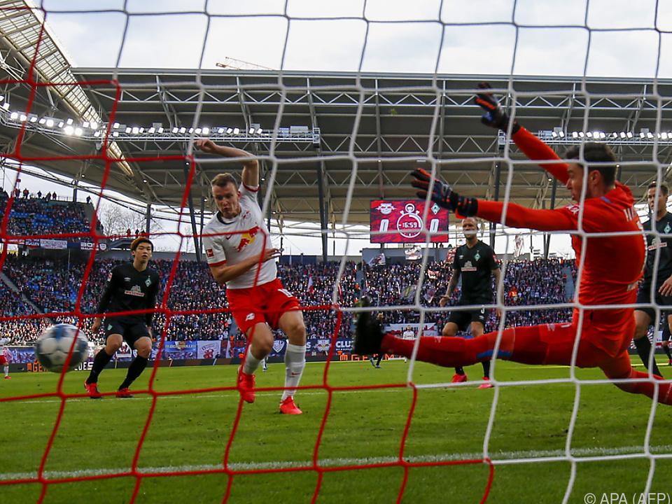 Lukas Klostermann traf zum 1:0