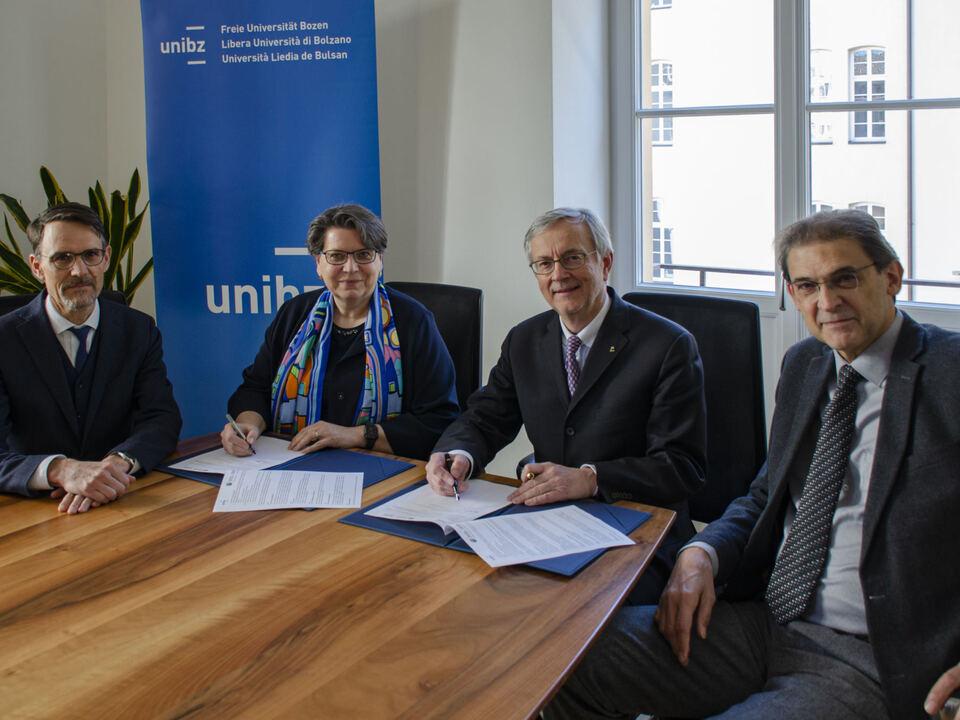 Mathà,Tappeiner, Ebner, Lugli (c) Freie Universität Bozen