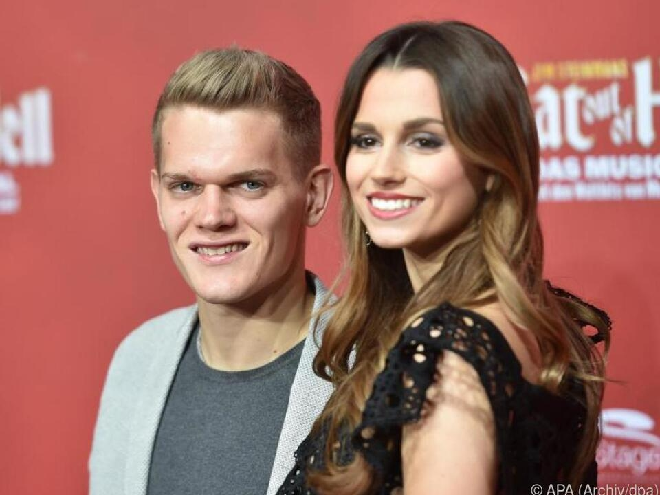 Matthias Ginter und seine Frau Christina