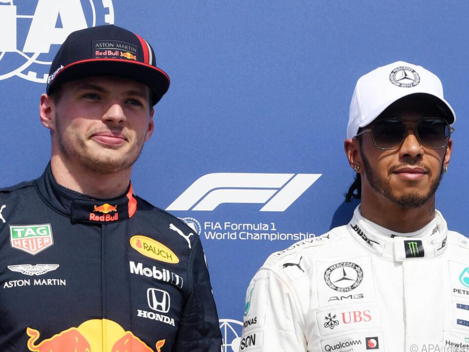 Max Verstappen will Lewis Hamilton herausfordern