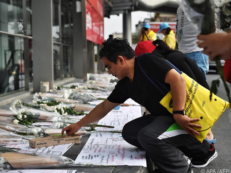 Mehr als 1.000 Menschen gedachten der Opfer