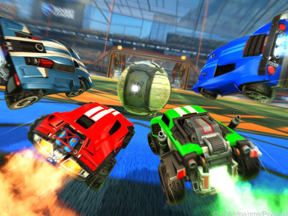 Das Auto-Fußball-Spiel \