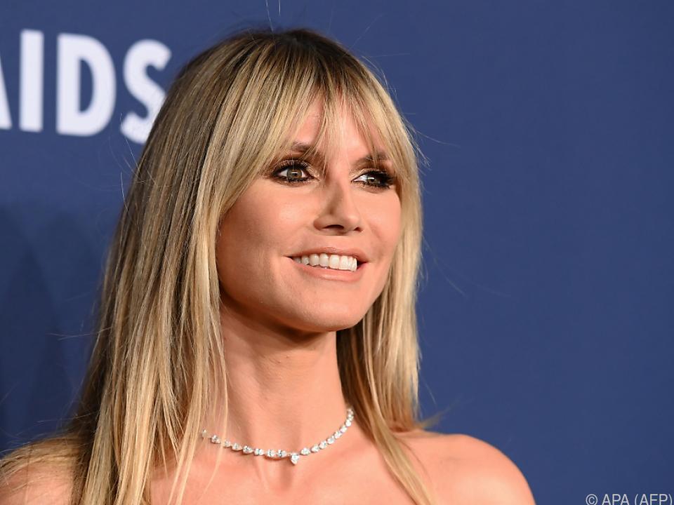 Model Heidi Klum wieder als Jurorin im Einsatz