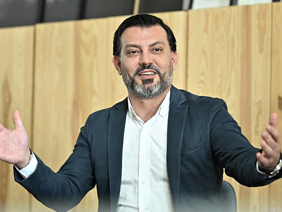 Neuer Ikea-Österreich-Chef Alpaslan Deliloglu beim Pressegespräch