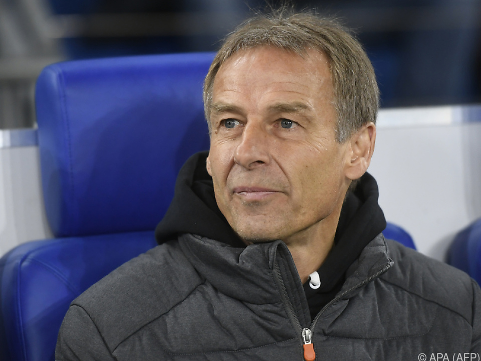 Nur zehn Wochen bekleidete Klinsmann das Traineramt