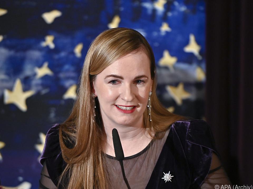 Opernball-Organisatorin Maria Großbauer
