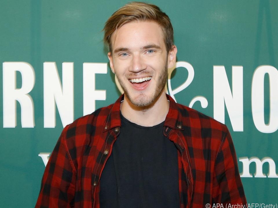 PewDiePie hat 103 Millionen Abonnenten bei Youtube