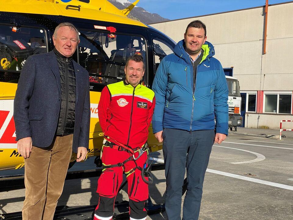 PM HGV begrüßt Stationierung von Pelikan 3 in Laas