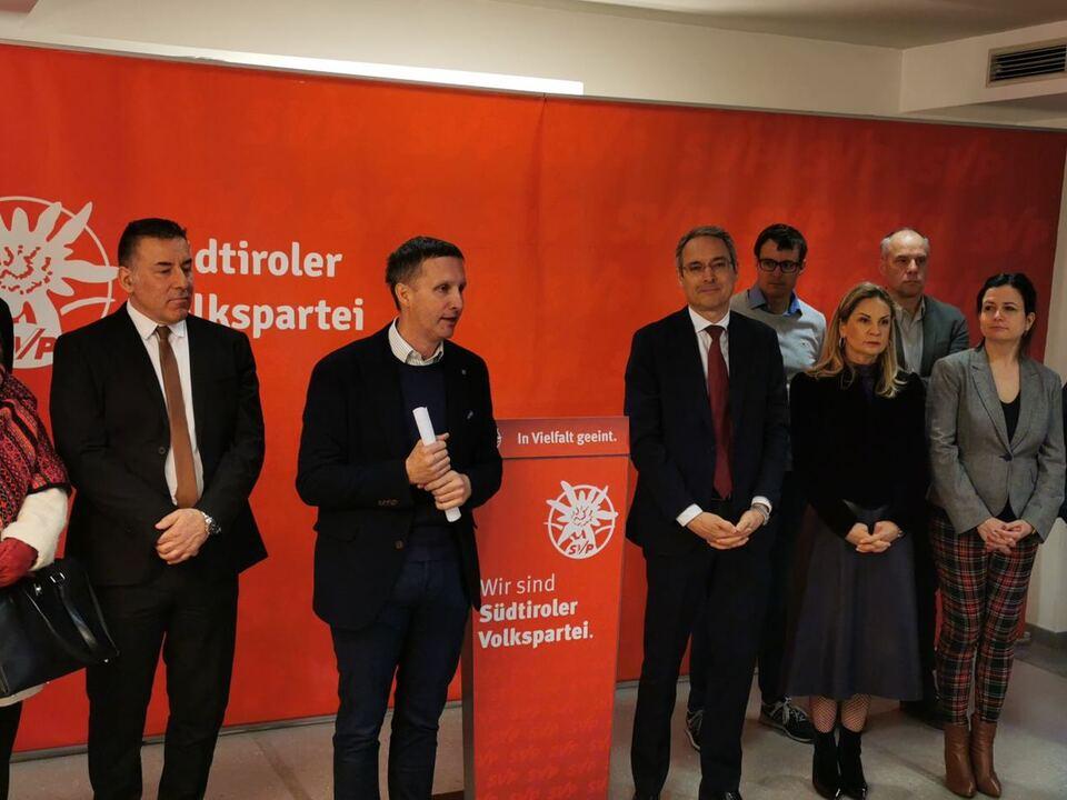 Pressekonferenz SVP- Conferenza Stampa SVP (18.02.2020)