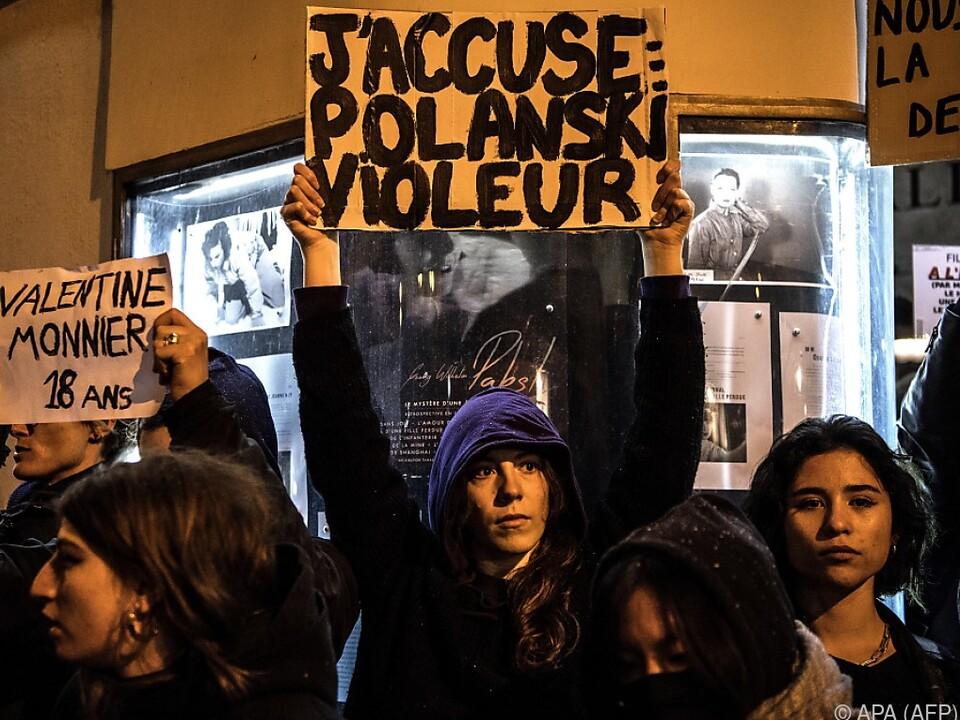 Proteste wegen Roman Polanski
