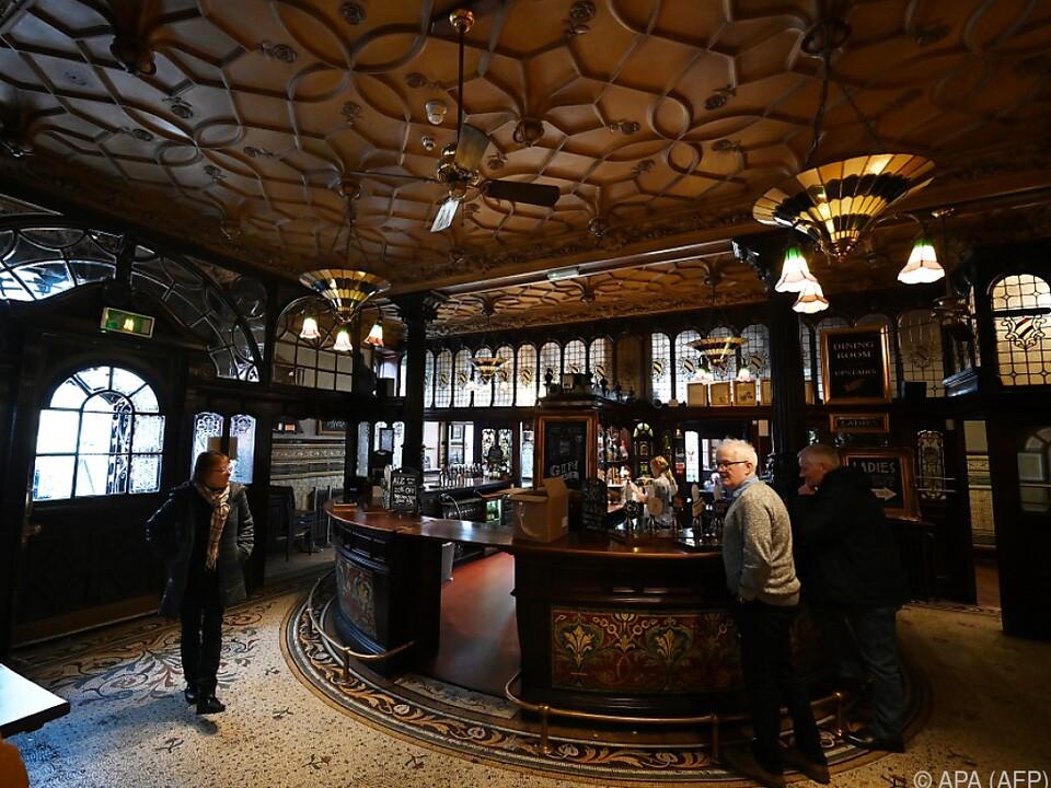 Pub aus Viktorianischem Zeitalter