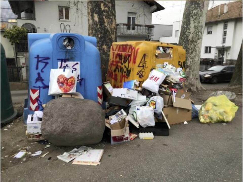 R-Benedikter Müll Abfall Sigmundskron