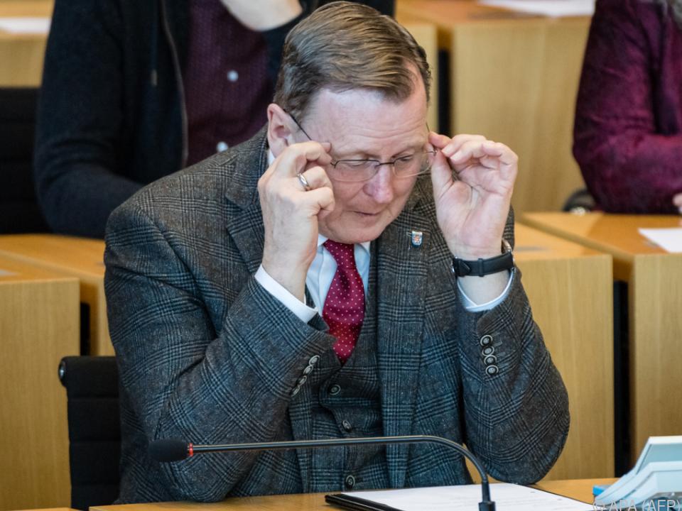 Ramelow will wieder für das Amt des Ministerpräsidenten kandidieren
