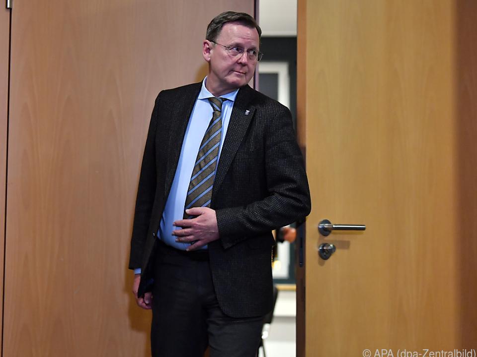 Ramelows Wiederwahl zum Ministerpräsidenten war zuvor gescheitert
