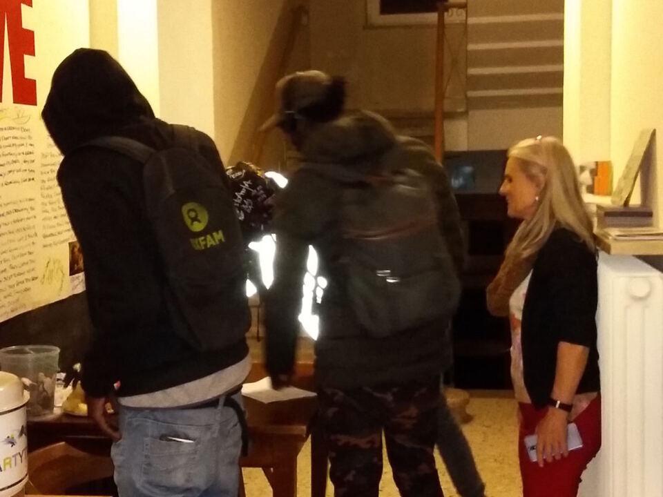 Winterhaus Registrierung Obdachlose